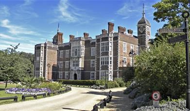 The beautiful Jacobean frontage of Charlton House in Charlton Village, Greenwich.