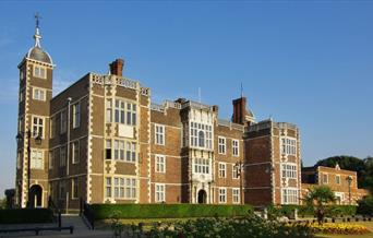 Looking west on Charlton House on a  sunny summers day.