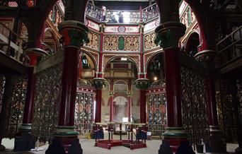 Grand Victorian Hall of Crossness Engines Victorian Pumping Stations