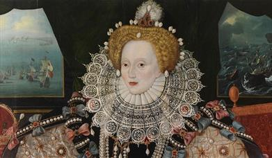Three versions of the painting survive, each offering a subtly different depiction of Queen Elizabeth I at the height of her power.
