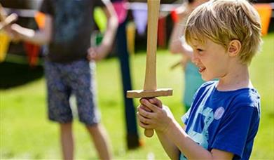 Kids ruling at Eltham Palace and Gardens this May half term.