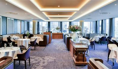 Dine in style at the award-winning Peninsula Restaurant at InterContinental London - The O2.