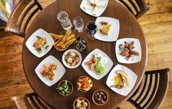 The Hill Restaurant serves a varied Mediterranean menu with a distinctly Latin American twist!