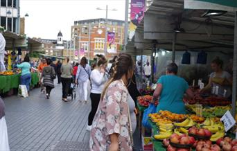 At the heart of Beresford square Market, showing a welcoming place for everyone.